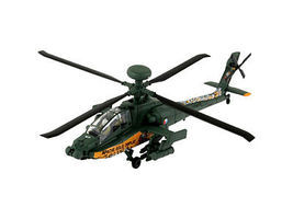 Revell-Germany AH-64 Apache Helicopter Snap Tite Plastic Model Aircraft Kit 1/100 Scale #06646