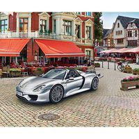 Revell-Germany Porsche 918 Spyder Plastic Model Car Kit 1/24 Scale #07026
