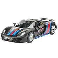 Revell-Germany Porsche 918 Spyder Weissach Sport Version Plastic Model Car Kit 1/24 Scale #07027