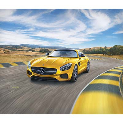 Revell-Germany Mercedes AMG GT Plastic Model Car Kit 1/24 Scale #07028