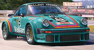 Revell of Germany Porsche 934 RSR Vaillant -- Plastic Model Car Kit -- 1/24 Scale -- #07032