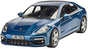 Revell-Germany Porsche Panamera 2 Plastic Model Car Kit 1/24 Scale #07034