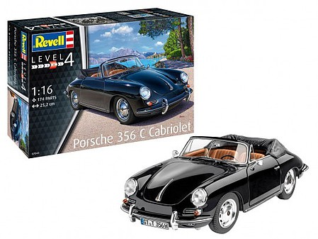 Revell-Germany NYA 1/16 Porsche 356 C Cabriolet
