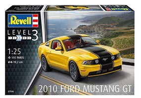 Revell-Germany 2010 Ford Mustang GT 1-25