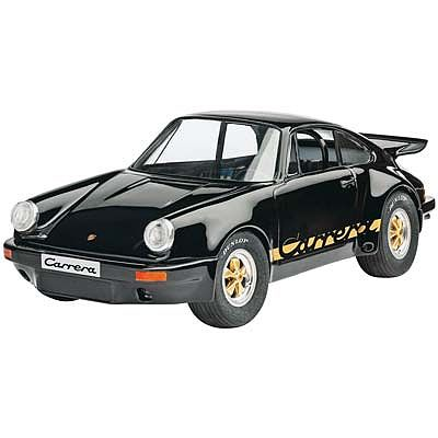 Revell of Germany Porsche Carrera RS 3.0 Black -- Plastic Model Car Kit -- 1/25 Scale -- #07058