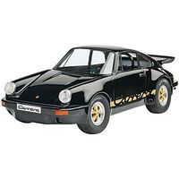 Revell-Germany Porsche Carrera RS 3.0 Black Plastic Model Car Kit 1/25 Scale #07058