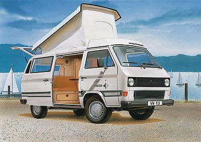 volkswagen t3 westfalia joker camper plastic model vehicle. Black Bedroom Furniture Sets. Home Design Ideas
