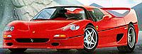 Revell-Germany Ferrari F 50 Coupe Plastic Model Car Kit 1/24 Scale #07370