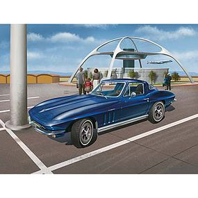 Revell-Germany 1965 Corvette Sting Ray C2 Limited Edition Plastic Model Car Kit 1/8 Scale #07434
