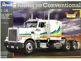 Revell-Germany Peterbilt 359 Plastic Model Truck Kit 1/16 Scale #07455