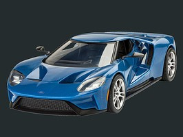 Revell-Germany 2017 Ford GT Snap Tite Plastic Model Vehicle Kit 1/24 Scale #07678