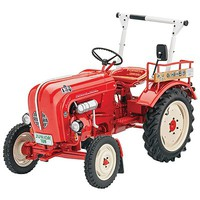 Porsche Junior 108 Plastic Model Tractor Kit 1/24 Scale #07820