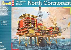 Revell-Germany Oil Rig North Cormorant Plastic Model Building Kit 1/20 Scale #08803