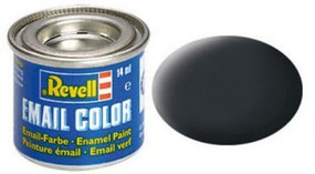 Revell-Germany 14ml. Enamel Anthracite Grey Mat Tinlets Hobby and Model Enamel Paint #32109