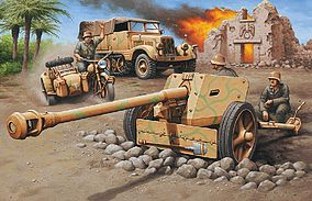 Revell-Germany SdKfz 11 Halftrack w/Pak 40 Gun Plastic Model Military Vehicle Kit 1/76 Scale #3252
