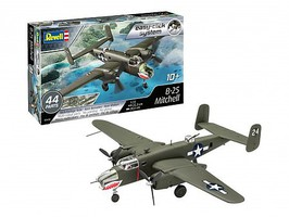 Revell-Germany B25 Mitchell Bomber (Snap) Plastic Model Airplane 1/72 Scale #3650