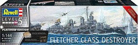 Revell-Germany 1/144 Fletcher Class Destroyer Platinum