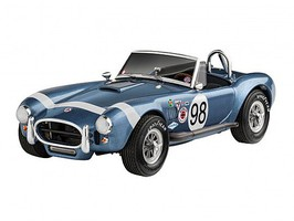 Revell-Germany 1/25 1962 Shelby Cobra 289 Car w/paint & glue