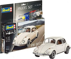 Revell-Germany 1/32 VW Beetle Car w/paint & glue