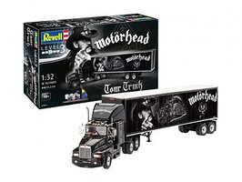 Revell-Germany 1/32 Motorhead Tour Tractor Trailer w/paint & glue