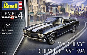Revell-Germany 1/25 1968 Chevy Chevelle SS 396 Car