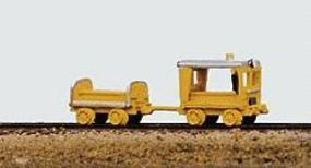 Railway-Express MOW Vehicles Heavy Duty Speeder and Crew Car Model Railroad Vehicle N Scale #2001