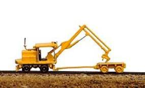 Railway-Express MOW Vehicles Kershaw Tie Crane & Tie Cart Model Railroad Vehicle N Scale #2011