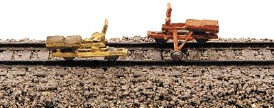 Railway-Express Track Inspection Car Velocipede Pkg(2) Model Railroad Vehicle N Scale #2014