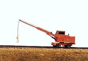 Railway-Express MOW Vehicles Pyke Utility Crane Model Railroad Vehicle N Scale #2021