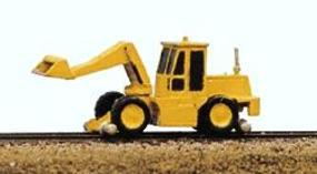 Railway-Express MOW Vehicles Swingmaster with Loading Bucket Model Railroad Vehicle N Scale #2051