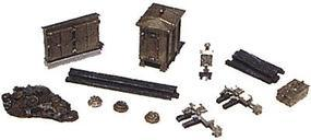 Railway-Express Railroad Mainline Detail Set Model Railroad Building Accessory N Scale #2151