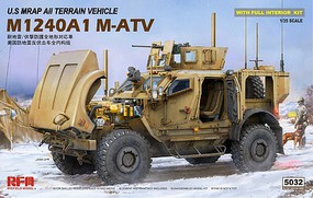 Rye 1/35 US M1240A1 M-ATV MRAP All-Terrain Vehicle w/Full Interior