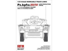 Rye Workable Track Links Set for PZIII/IV-35