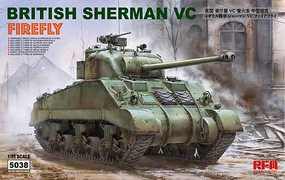 Rye 1/35 British Sherman VC Firefly Tank w/Workable Track Links