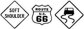 S-and-S Route sign kit 10/ - Z-Scale (10)