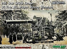 Soar-Art 1/35 WWII German 35.5cm M1 Super Heavy Howitzer