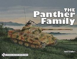 Schiffer Panther Family Authentic Scale Tank Vehicle Book #2029