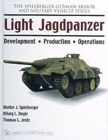 Schiffer Light Jagdpanzer (Hardback) Military History Book #26233