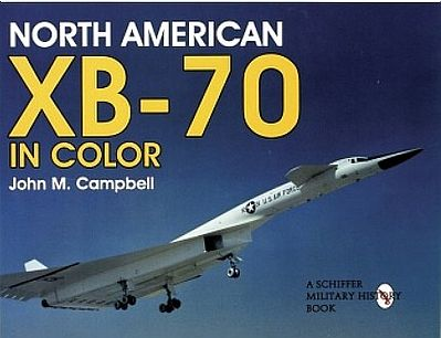Schiffer North American XB70 in Color