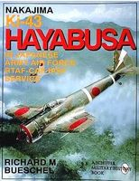 Schiffer Nakajima Ki43 Hayabusa in Japanese Army Air Force RTAF-CAR-IPSF Military History Book #8044