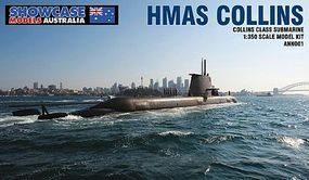 Showcase HMAS Collins SSG-73 Plastic Model Military Ship 1/350 Scale #n001