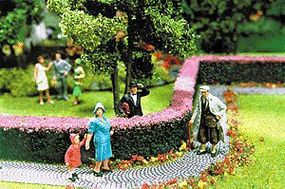 Scenic-Expr Ornamental Hedges & Shrubbery - Flowering Hedges Model Railroad Scenery Supplies #512