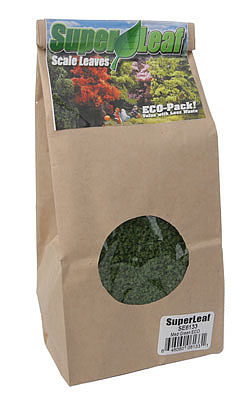 24oz Eco Pack Scenic Express Super Leaf Scale Leaves Light Green