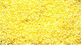 Scenic-Expr SuperLeaf Flowering Blossom 16oz Shaker Maize Yellow Model Railroad Ground Cover #6312