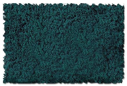 Scenic Express Scenic Foams & Ground Textures Spruce Green -- Model Railroad Ground Cover -- #803b
