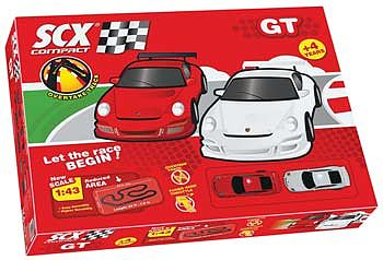 Scx by Irwin Toy 1/43 Compact GT Set 25.2'