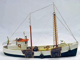 Sea-Port 65 Fishing Dragger Kit HO Scale Model Vehicle #h118ho