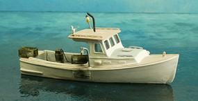 Sea-Port 34' Working Lobster Boat HO-Scale