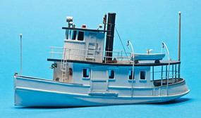 Sea-Port 53' Passenger Steam Ferry HO-Scale