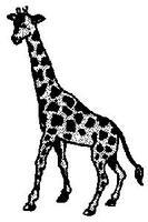 Shelly Giraffe Model Railroad Figure HO Scale #457